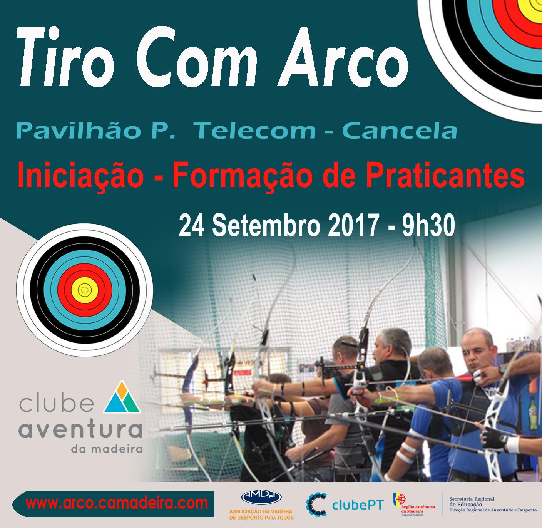 Cartaz ARCO formação praticantes 2017